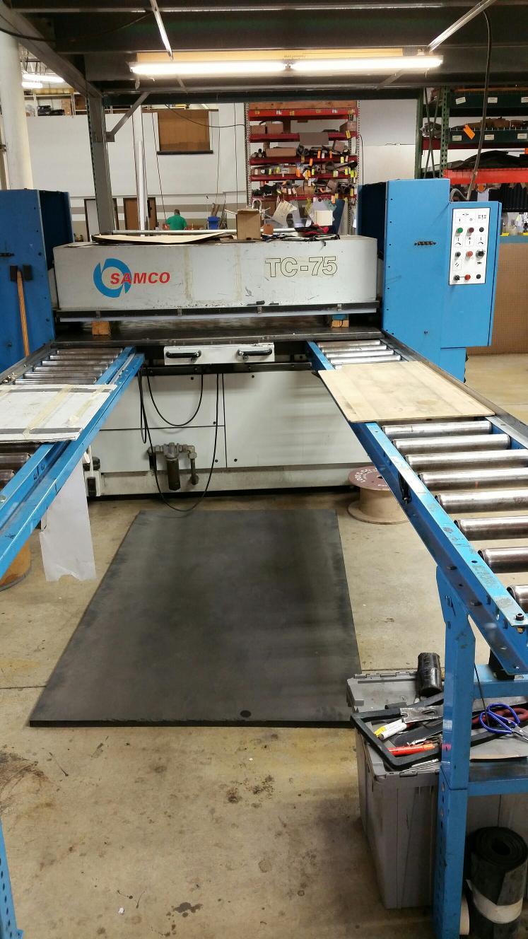 Die Cutting | Basic Rubber & Plastics Company Inc